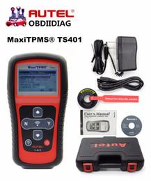Wholesale Maxitpms Autel - Original AUTEL MaxiTPMS TS401 New generation TPMS Diagnostic and Service Tool easy access to the faulty TPMS sensor