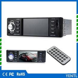 Livraison gratuite LCD Affichage Audio Vidéo PIn-Dash MP5 Lecteur De Voiture 1 Din 4.1 Pouce De Voiture Vidéo Multimédia Lecteur FM Radio MP3 MP4 DVD USB SD AUX ? partir de fabricateur