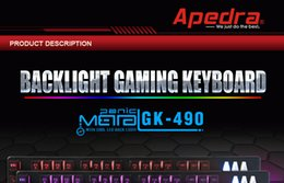 Wholesale Led Backlit Computer - 2017 Ergonomics Curved Keycaps Backlight Gaming Keyboard USB Wired LED Backlit Metal Base Computer Teclado for CSGO LOL Dota 2 Game