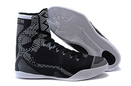 Wholesale Kb Shoes Elite - 2018 KB Kobe 9 IX Elite basketball shoes high Boots cushioning sneakers training All Star comfortable For online Cheap sale