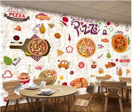 3d papier peint photo personnalisé restaurant occidental pizza atelier de cuisine fond peinture murale peintures murales papier peint pour murs 3d salon ? partir de fabricateur