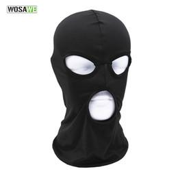 Wholesale Mask Moto - WOSAWE Outdoor Sports Neck Face Mask Moto Winter Warm Ski Snowboard Wind Cap Cycling Balaclavas Motorcycle Masks