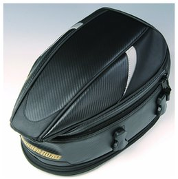 Wholesale motorcycle rear seats - New RR9014 motorcycle rear seat bag   send car tail pocket   bag rain cap