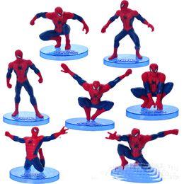 2019 grandes voitures Spider-Man Super Spiderman 7 Spider Man Poupée Décoration De Voiture Décoration Meilleur cadeau pour enfants V 002 grandes voitures pas cher