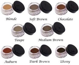 crème ébène Promotion Enhancers Eyebrow 7 Colors Cosmetics Crème Sourcils AUBURN / BLONDE / CHOCOLAT / FONCÉ / ÉBÈNE / BRUN MOYEN / MARRON DOUX