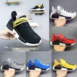 49a49bd63 2018 NEW Pharrell Williams Human RACE HU NMD Trail Mens Designer Sports  Running Shoes for Men Sneakers Women Casual Trainers Without Boxes men  shoes without ...