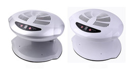 Wholesale Gray Fan - NEW ARRIVAL Hot & Cold Air Nail Dryer Manicure for Dry Nail Polish 3 Colors UV Polish Nail Dryer Fan FREE SHIPPING