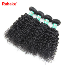 3 4pcs lot Human Hair Weave Bundles Kinky Curly Rabake 100% Unprocessed Malaysian Afro Kinky Curly Hair Wavy Extensions Wholesale Cheap Deal Deals