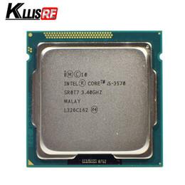 Processore intel 1155 online-Processore Intel I5 3570 Quad-Core 3,4 Ghz L3 = 6M 77W Socket CPU desktop LGA 1155
