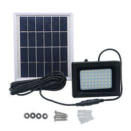 Luce spot principale impermeabile 3w online-Solar 54 LED Light Sensor Flood Spot Lampada da giardino Outdoor Security Impermeabile bianco / luce calda 5.5V 3W 400LM IP65