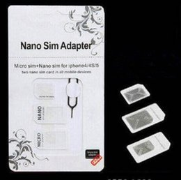 t мобильный iphone 4s Скидка NOOSY Nano Micro Sim стандартная карта адаптер конвертер 4 в 1 Nano Micro sim-карты для Iphone 6 Все мобильные устройства S10