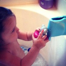 Wholesale Bath Cushions - Baby Safety Super Soft Bath Spout Cover Tap Animal Elephant Faucet Cover Collision Angle Washable Edge Cushions CCA8721 50pcs