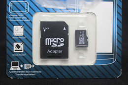 Wholesale Memory Cards 128gb - new 32GB 64GB 128GB Class 10 Micro SD TF Memory Card with GIFT Adapter Retail Package Flash SD SDHC Cards DHL free shipping