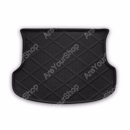 Cubeta para el maletero online-Areyourshop Auto Cargo Mat Boot trazador de líneas Bandeja Trasera Pegatina Perro Fundas Para Mascotas Para Kia Sorento 2003 2004-2009 Car-Covers