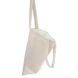 Nouveaux sacs à main design fille en Ligne-Nouveau Simple Conception Coton Sacs Femmes Réutilisable Shopping Sacs À Main Poche D'été Vacances Plage Filles Belle -15