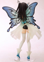 Wholesale Batman Toys Kids - Action Figure TONY Bishoujo Yotsunoha Heroine CHN Collection Peace Keeper Daisy Butterfly 25cm PVC Doll Collectible Model Anime
