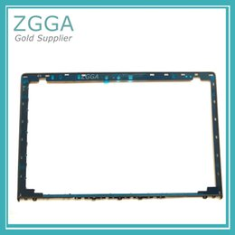 Wholesale 15 laptop screens - GENUINE Screen Frame Shell New For Lenovo Ideapad Y700-15 Y700-15ISK Laptop Lcd Front Bezel Cover AP0ZL000100 with 3D Camera