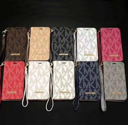 Argentina Estuche de lujo para el teléfono iPhone X XS MAX XR 8 7 6s Plus Cartera de cuero con tapa Cubierta de Shell para Samsung Galaxy S9 S8 S7 S6 S6 Edge Nota 8 5 Suministro