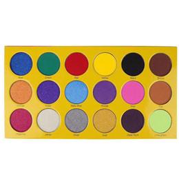 La paleta de maquillaje más nueva Caja de sombra de ojos de crayones iShadow Paleta de 18 colores Mate Shimmer Paleta de sombra de ojos Cosméticos envío gratis desde fabricantes