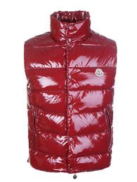 Clássico Da Marca Dos Homens de Inverno Quente Para Baixo Colete De Penas Vestido Jaquetas Dos Homens Ao Ar Livre À Prova D 'Água Para Baixo Coletes Casaco Homem Colete Colete M0N72 de