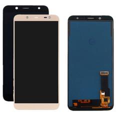 2019 samsung e7 lcd Para Samsung Galaxy J6 J600 2018 Pantalla LCD Táctil Digitalizador Asamblea Repuesto de alta calidad de reemplazo