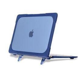 Macbook pro 13 caso completo online-Para el Macbook Nuevo toque la barra de 13 A1706/A1708 Nuevo toque la barra de 15 A1707 Retina15 A1398 Pro Retina de Cristal Claro de los Casos de Protección Completo la Cubierta del Caso