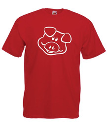 pig t shirts Promo Codes - PIG funny animal fashion present party gift size tee New Mens Womens T SHIRT TOP