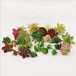 Piante artificiali succulente all'ingrosso online-Wholesale Artificial Plants With Vase Bonsai Tropical Cactus Fake Succulent Plant Potted Office Home Decorative Flower Pot