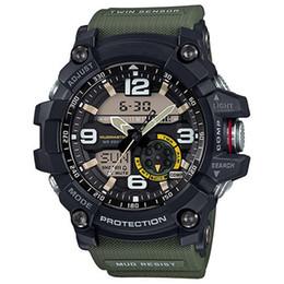 G g1000 G 500 de los hombres de alta calidad funciones del termómetro de la brújula reloj cronógrafo LED impactante todas las funciones funcionan relojes impermeables desde fabricantes