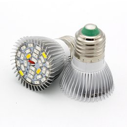 Wholesale Quality Spectrum - E27 E26 High Quality LED Grow Light Full Spectrum 18W 28W 110V 220V LED Growing Lamp Plant Light AC 85-265V Lights