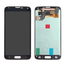 2019 écran de remplacement pour samsung galaxy s5 Écran LCD Écran Tactile Digitizer Assemblée Pour Samsung Galaxy S5 i9600 G900 G900F G900H Pièces De Rechange Nouveau promotion écran de remplacement pour samsung galaxy s5