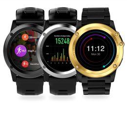 2019 smartphone mtk smartphone H1 MTK 6572 512 MB / 4 GB 1,39 zoll 5MP kamera 3G wifi gps smartwatch männer frauen fitness tracker PK kw88 kw99 kw98 h2 i7 rabatt smartphone mtk