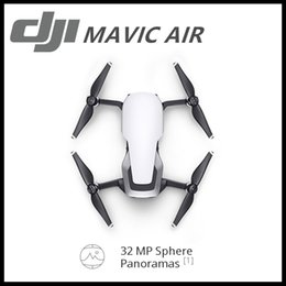 Wholesale Video Camera 4k - New Style DJI MAVIC AIR Fly More Comb & DJI Glggles 32 MP Sphere Panoramas 3-Axis Gimbal & 4K Camera Foldable & Portable 3-Directional Envir