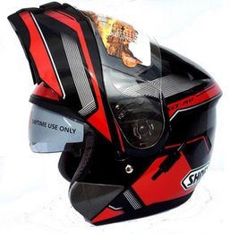 Wholesale Motorcycle Helmets Flip - New For SHOEI Flip Up Motorcycle Full Face Helmet Double Lens Motocicleta Casco Capacetes DOT Approved