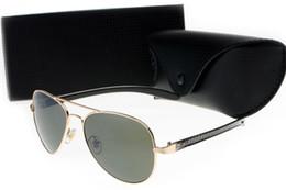Wholesale aviator blue sunglasses - New fashion NY Ban Sunlight Prescription Aviator Carbon Fibre 8307 Pilot Vintage Sunglasses Mens Luxury Brand Designer Womens Sun Glasses