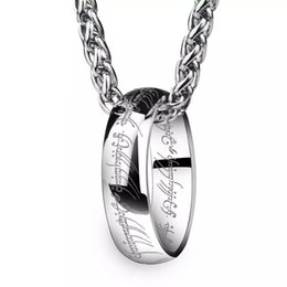 WAWFROK Men Colgante De Collar Stainless steel Scripture Male Necklace Pendant Acero Inoxidable Cadena Collar jewelry T-060 supplier jewelry acero inoxidable от Поставщики ювелирные изделия, не подверженные коррозии