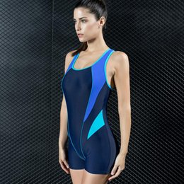 221d850a7e0 New Women Summer Swimwear Sportwear Triangle One-piece Swimsuit High  Quality Professional Training Conservative Plus Size Swimming Wear