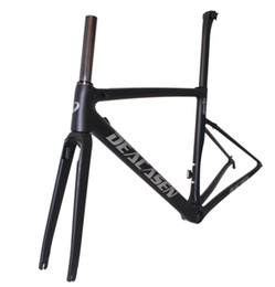 Wholesale Bicycle Frame Design - 2018carbon road bike frame carbon fibre road cycling race bicycle frameset bike new design with fork free shipping carbon road frameset