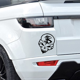 34# GHOST SKULL SERIES Car Window Bumper Body Decal Racing Graphics Sticker