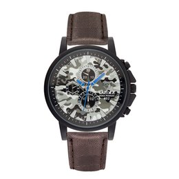 Wholesale Mm Life - Rushed Mens Luxury Watch Top Brand Leather Strap Famous Military Watches Sports Life Waterproof Clock Wristwatches Relogio Masculino