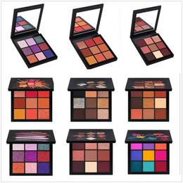 Nouvelle Beauté Maquillage Fard À Paupières Palette 9 couleur Obsessions palettes 6 Style Gemstone Corail Eye Shadow livraison gratuite ? partir de fabricateur