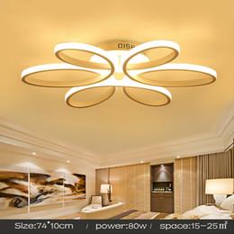2019 chinesische laterne licht anhänger Moderne led deckenleuchten für wohnzimmer luminaria led schlafzimmer leuchten indoor home dec deckenleuchte 110 v 220 v weiß / schwarz körper