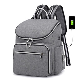 2019 maternité sacs 2018 mode momie maternité sac à langer grande capacité bébé sac voyage sac à dos desinger soins infirmiers pour soins de bébé promotion maternité sacs