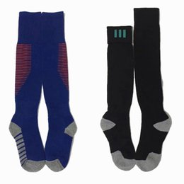 Wholesale Kids Table Tennis - 2017 2018 Real Madrid Man Neymar JR Messi Men KIDS Boys Soccer Socks Top Quality Thick Antiskid Socks Soccer Football Sports Stocking