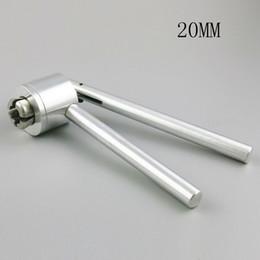 2019 máquina cortadora Se actualizaron las nuevas herramientas manuales de vidrio Vial Crimper para la máquina de sellado de botellas de 20 mm Vial Crimper máquina cortadora baratos