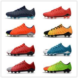 Wholesale Cheap Low Heel Boots - Cheap Mens Soccer Cleats Hypervenom Phantom III FG Outdoor Soccer Shoes Cheap Low Heel Hypervenoms ACC Mens Football Boots Shoes