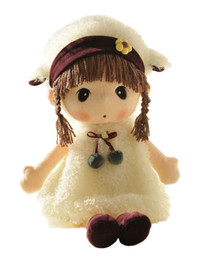Wholesale Dolls Toys For Girls - 24'' Kawaii Plush Girl Toys Doll , Good Dolly Gifts for Children Kids Baby .(White)