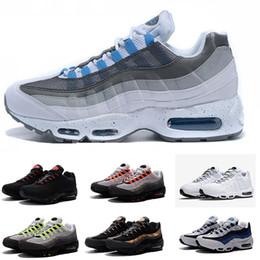 new style 0f378 1e29c 2018 Günstige Rabatt Männer maxing Nike Air Max 95 OG Kissen Navy Heißer  Verkauf Chaussure 95s Wanderschuhe Herren Damen Schuhe Kissen 95 Schuhe