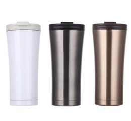Wholesale Car Color Personality - Double Wall Stainless Steel Coffee Mug 500ml Thermos Cup Insulation Tea Coffee Mug Milk Car Water Bottle Thermocup Cup
