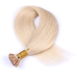 indian hair 27 613 Coupons - Burmese I Tip Hair Extensions Straight Human Virgin Hair #27, #22, #613, #60, #99j, 1g strand 100g Double Drawn G-EASY